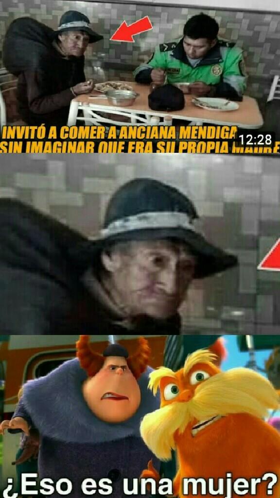 Ami me gusta mucho la película del lorax - meme
