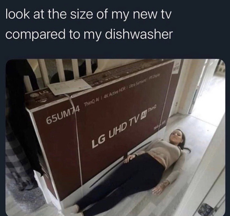 Laying down on the job - meme