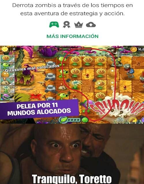 La gente que juega así tiene problemas - meme