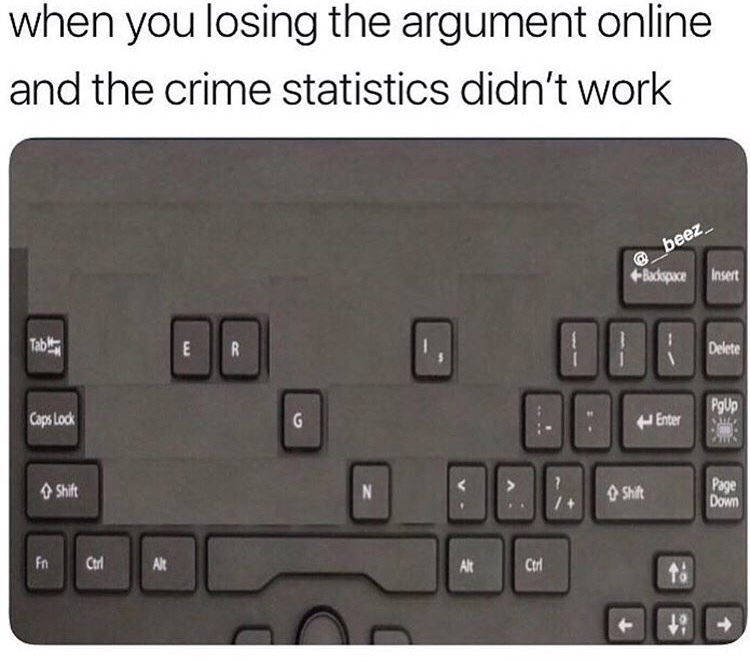 """""""don't be mad it's just a simple fact"""" - meme"""