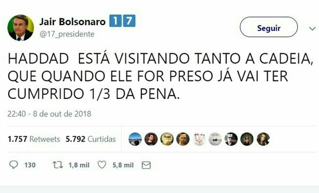 BOLSONABO 2K18 - meme