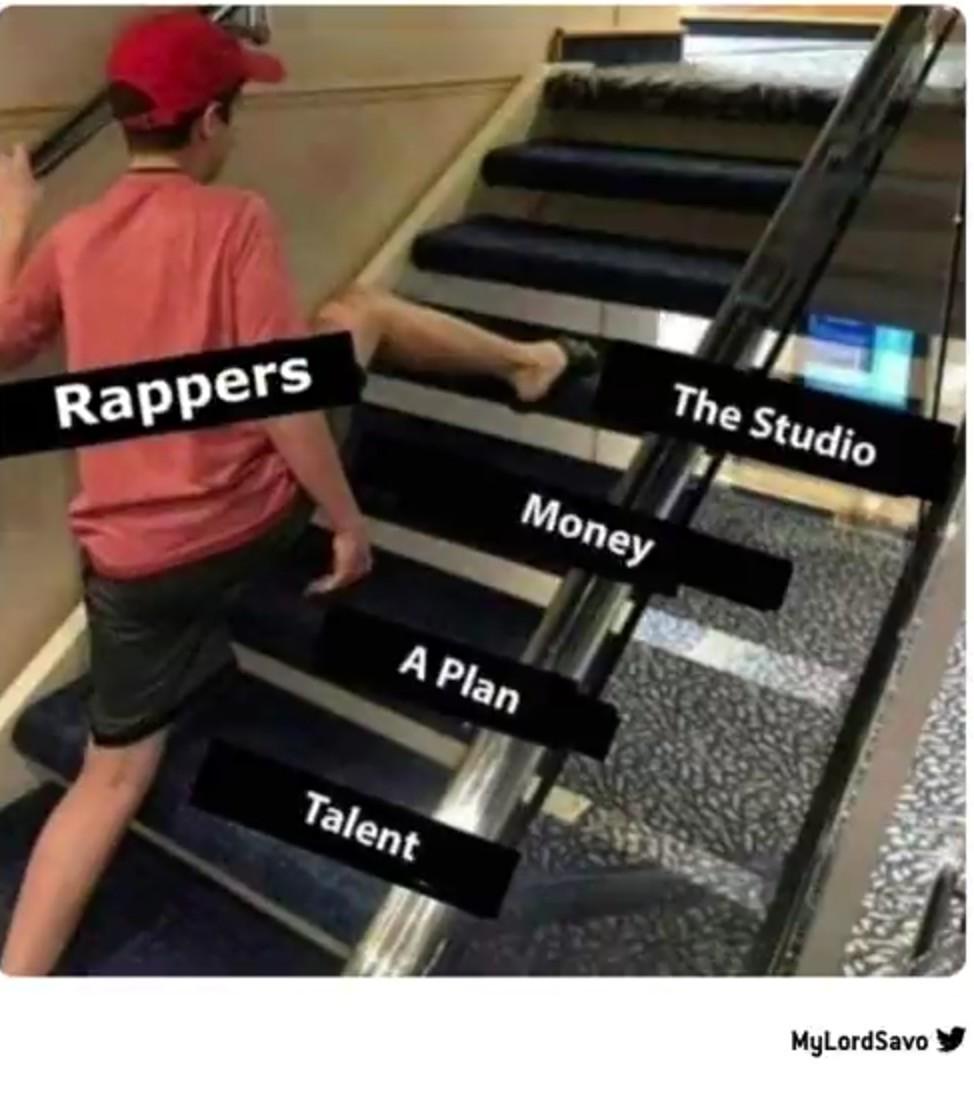 Des gens qui écoute du rap us ici ? - meme