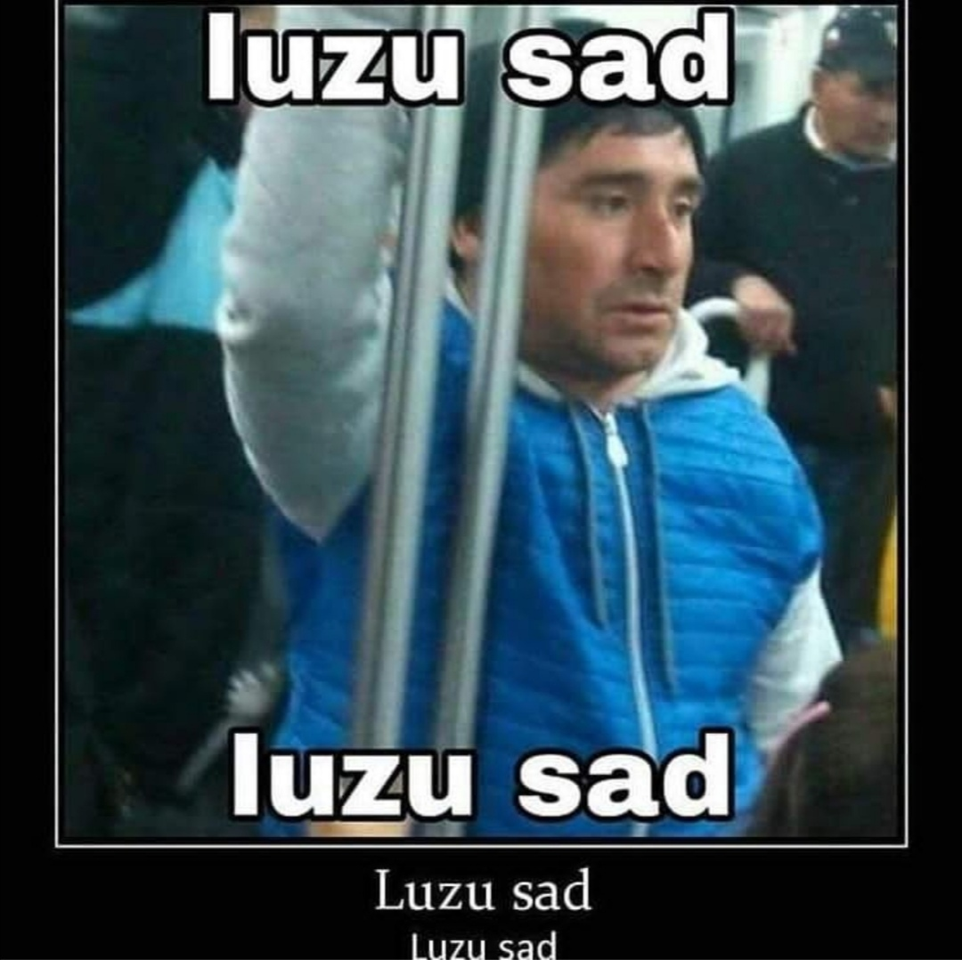 luzu sad. - meme