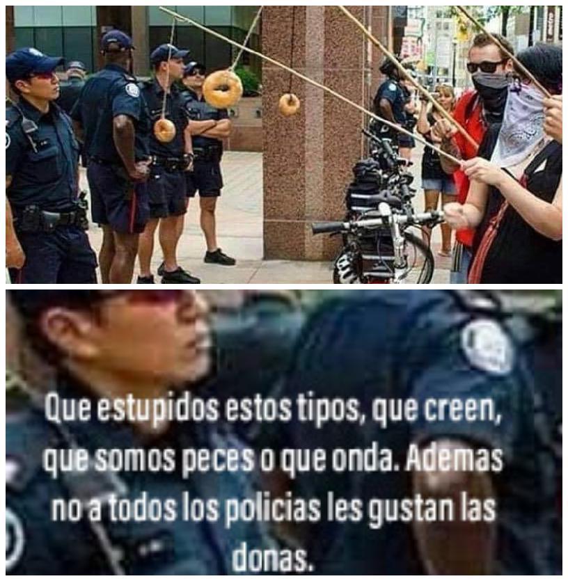 Policias - meme