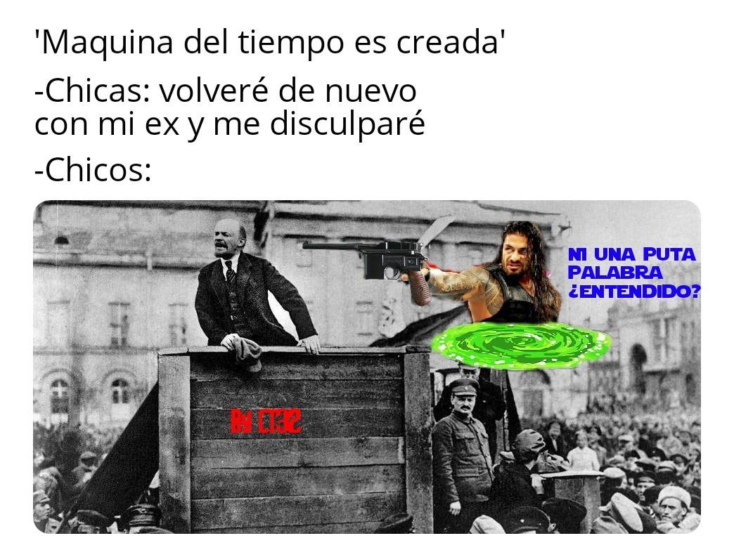 Puto Lenin - meme