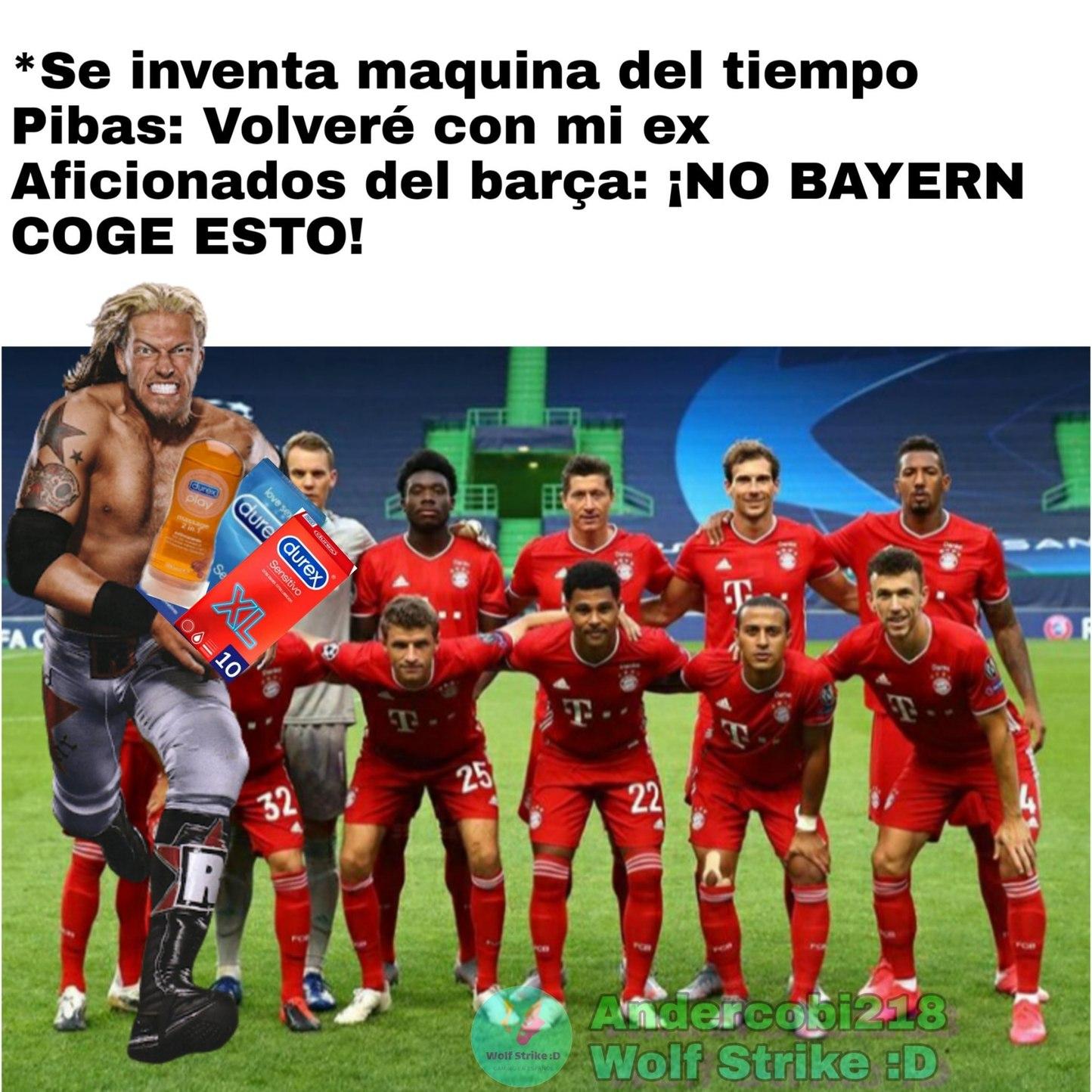 BAYERN CUIDADO NO LO LASTIMES - meme