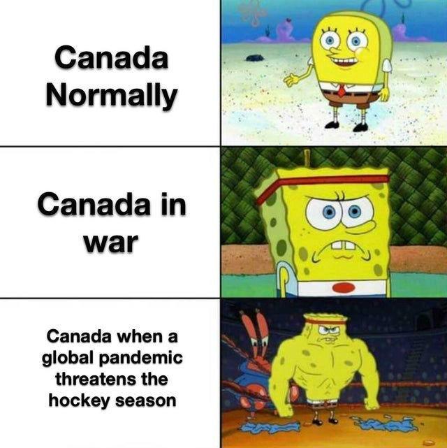 Canada be like - meme
