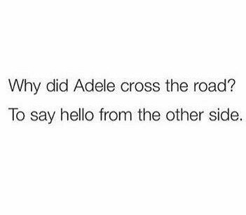 Classic Adele - meme