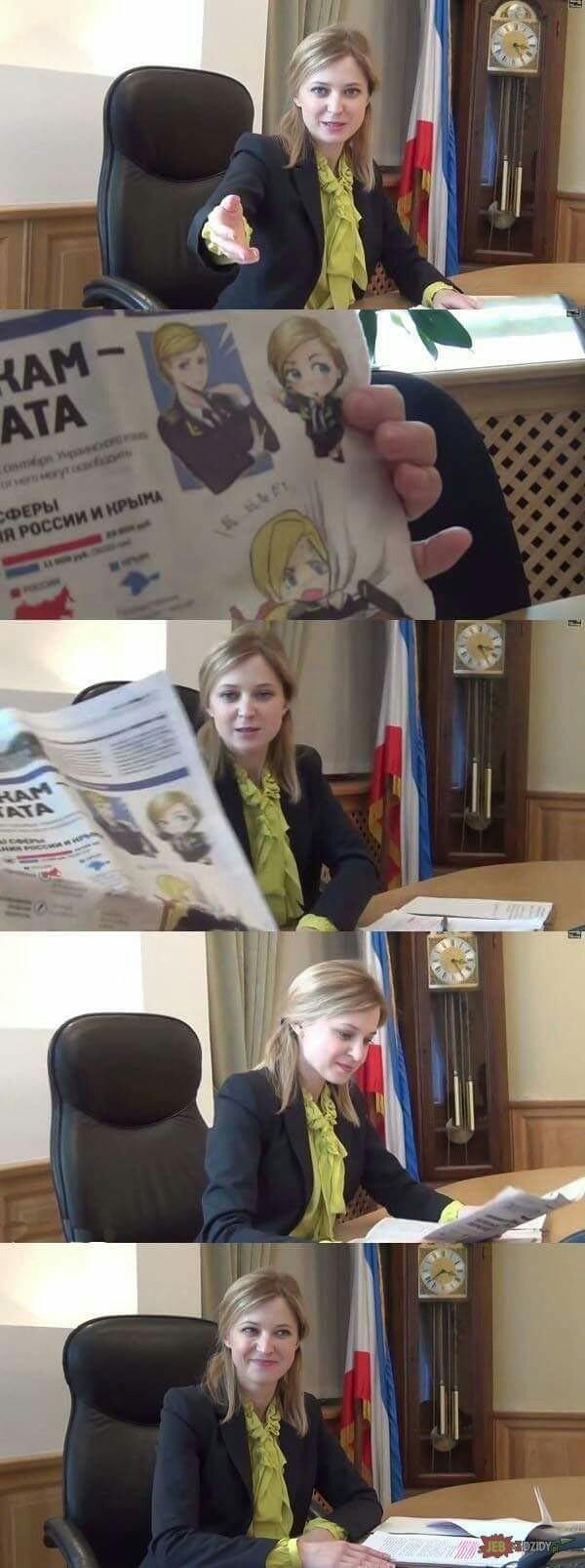 Natalia Vladímirovna Poklónskaia - meme