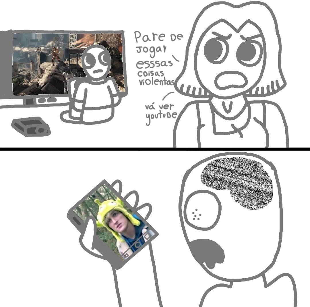 Q desenho mais merda - meme