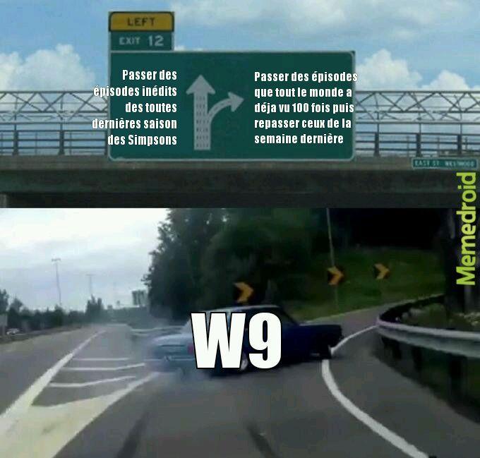 Les réunions chez W9 - meme