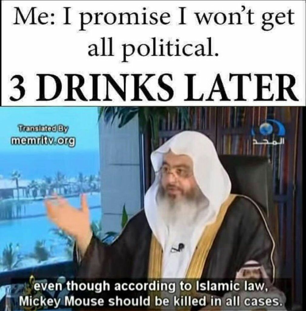 Allah forbids it - meme