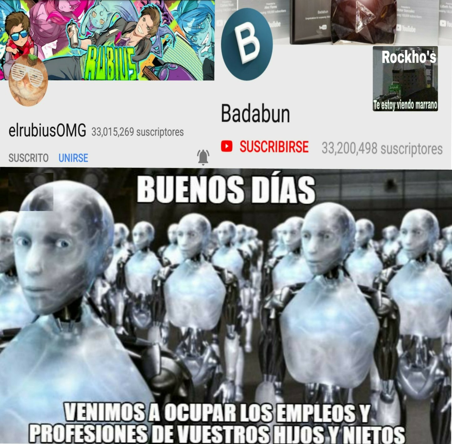 Badabots - meme