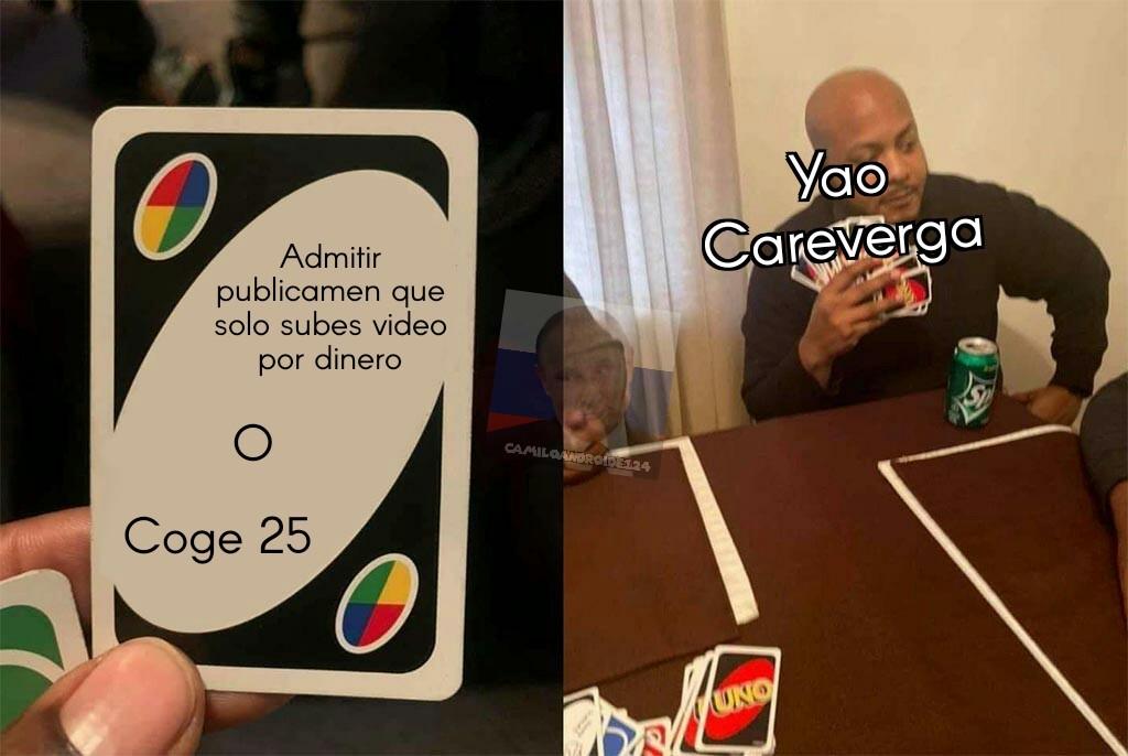 Yao Careverga - meme