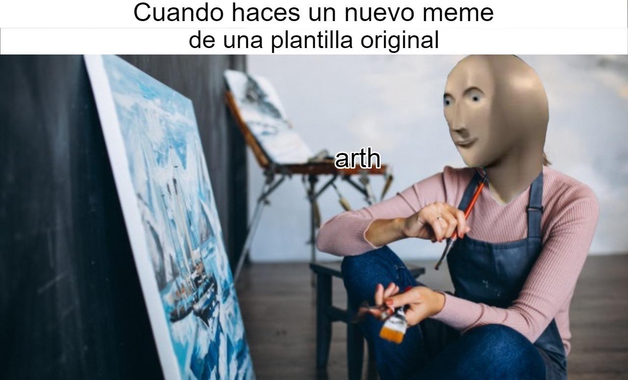 Artista - meme