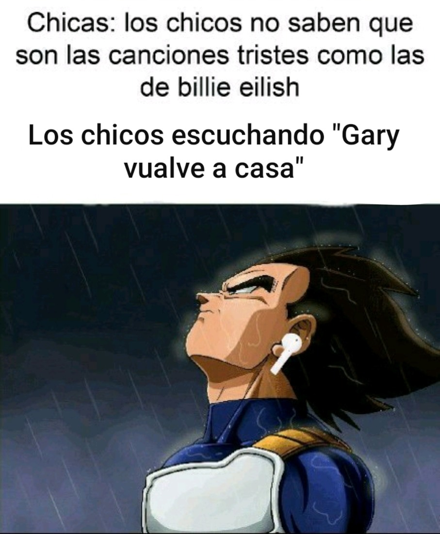 Gary, ya sé que estuve mal - meme