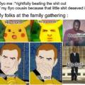 I too love my family