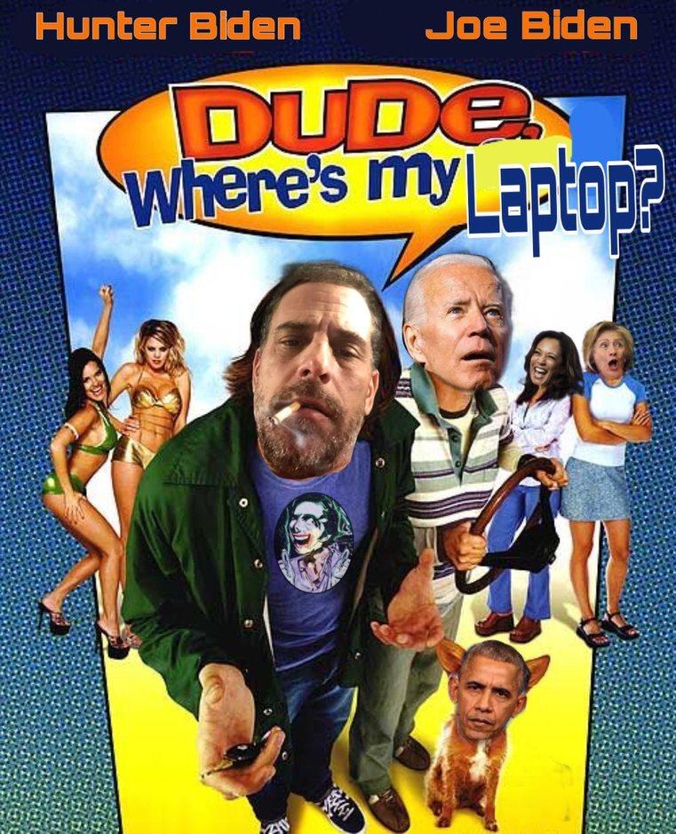 Dude, Where's My Laptop? - meme