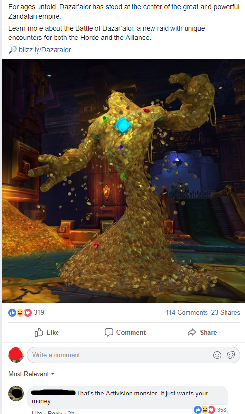 Its a reference to a raid in wow. - meme