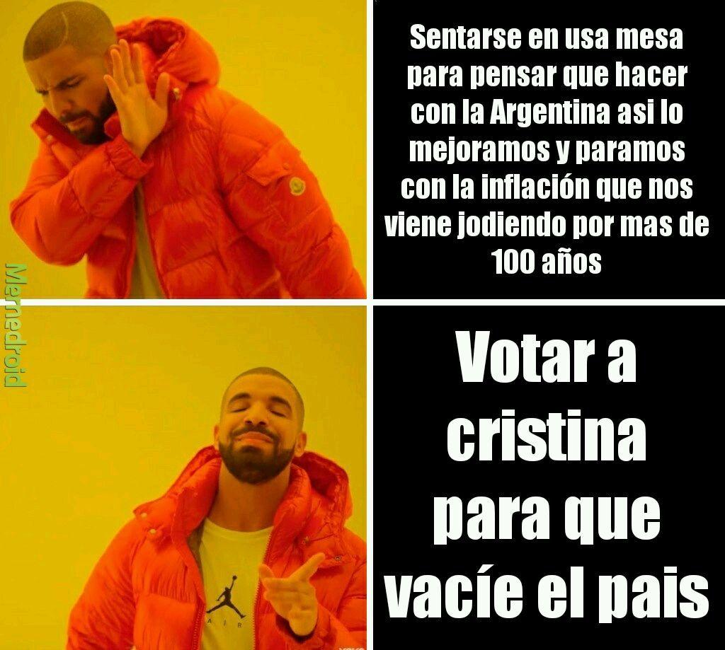 Las elecciones del 2020 - meme