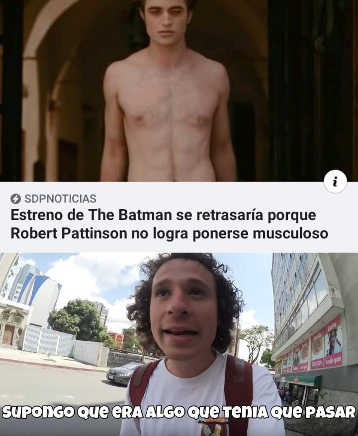 batman de crepusculo - meme