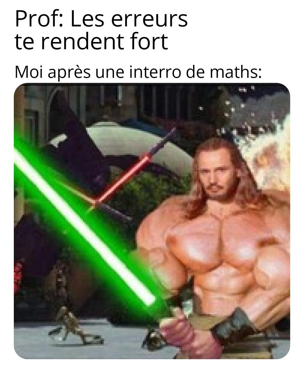 Qui Gon Gym - meme