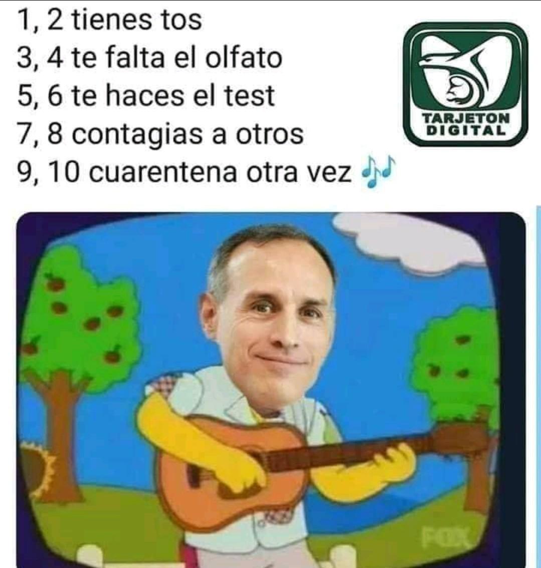Nuestro secretario de salud en México - meme