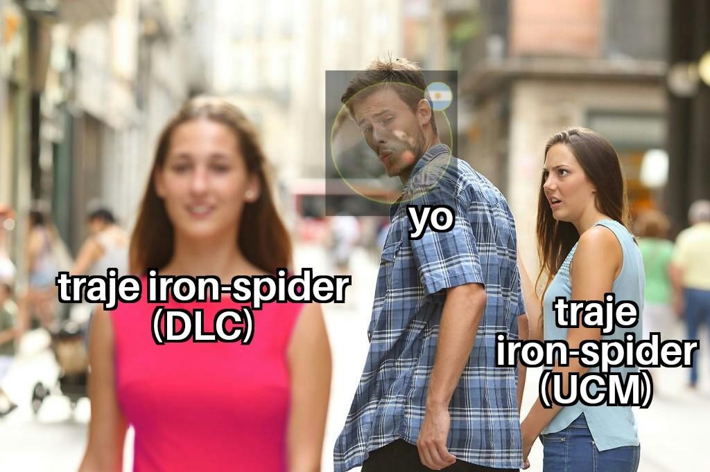 Por cierto este es un meme de spiderman ps4