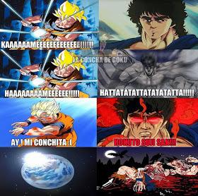 Kenshiro les gana a todos - meme