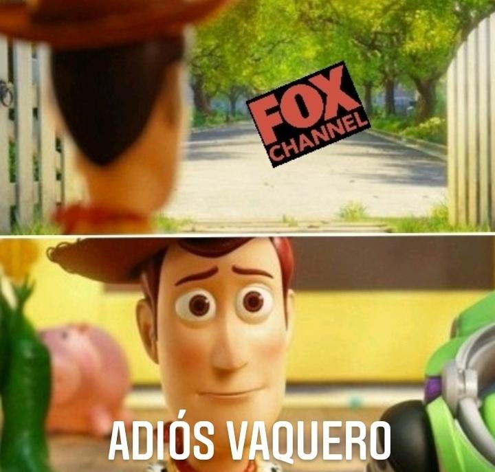 Río Fox channel - meme