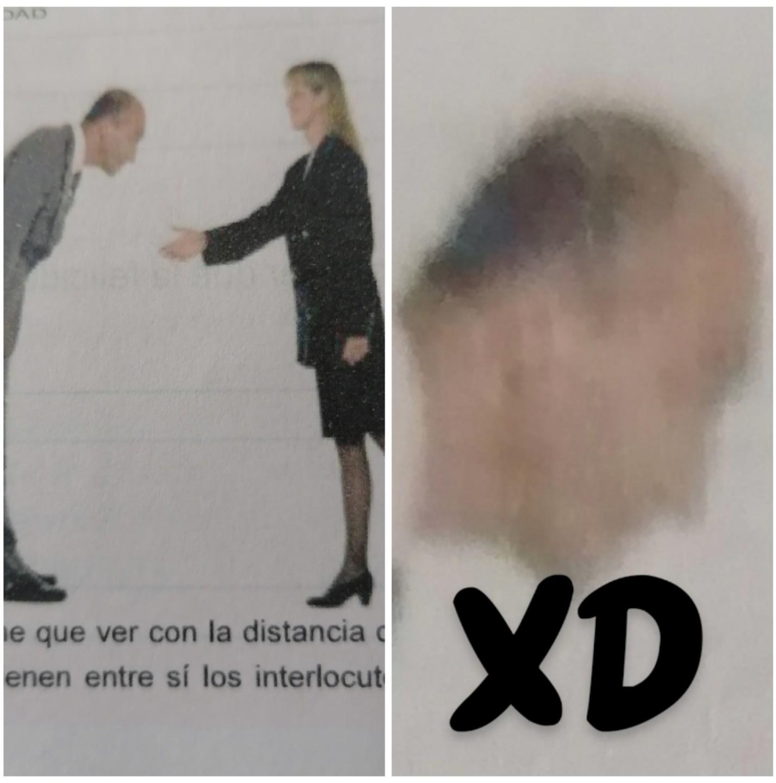 Aparecio en mi libro de lenguaje - meme