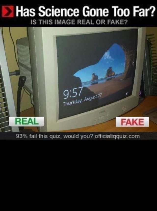 Não sei Rick, parece falso - meme