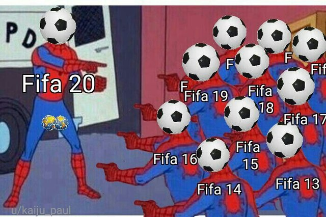 FIFA games are always the same - meme