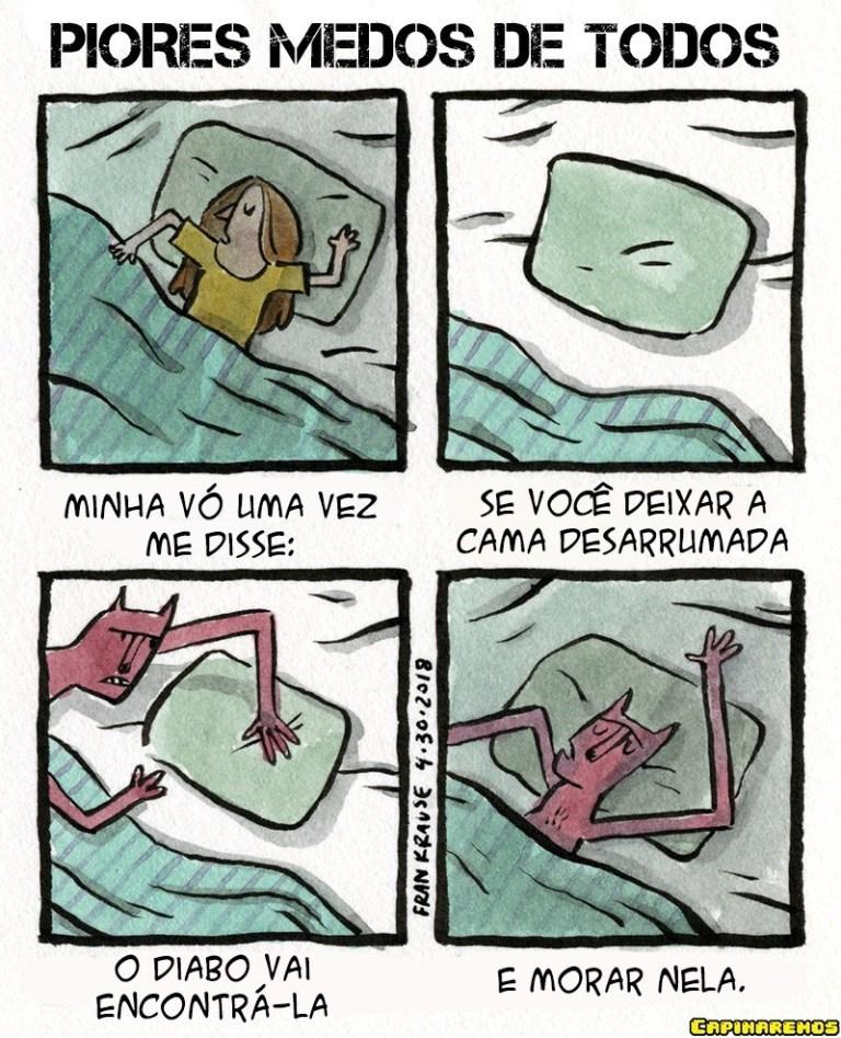 durma com os anjos - meme