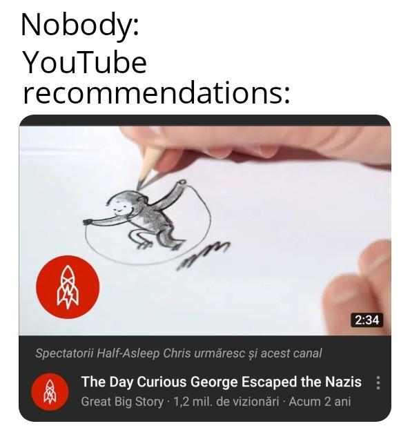 I love YouTube - meme