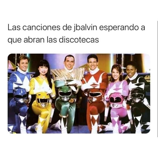 Discotecas J balvin - meme