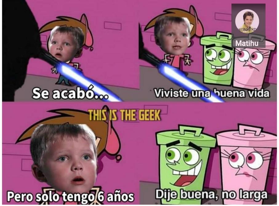 Anakin nooo - meme