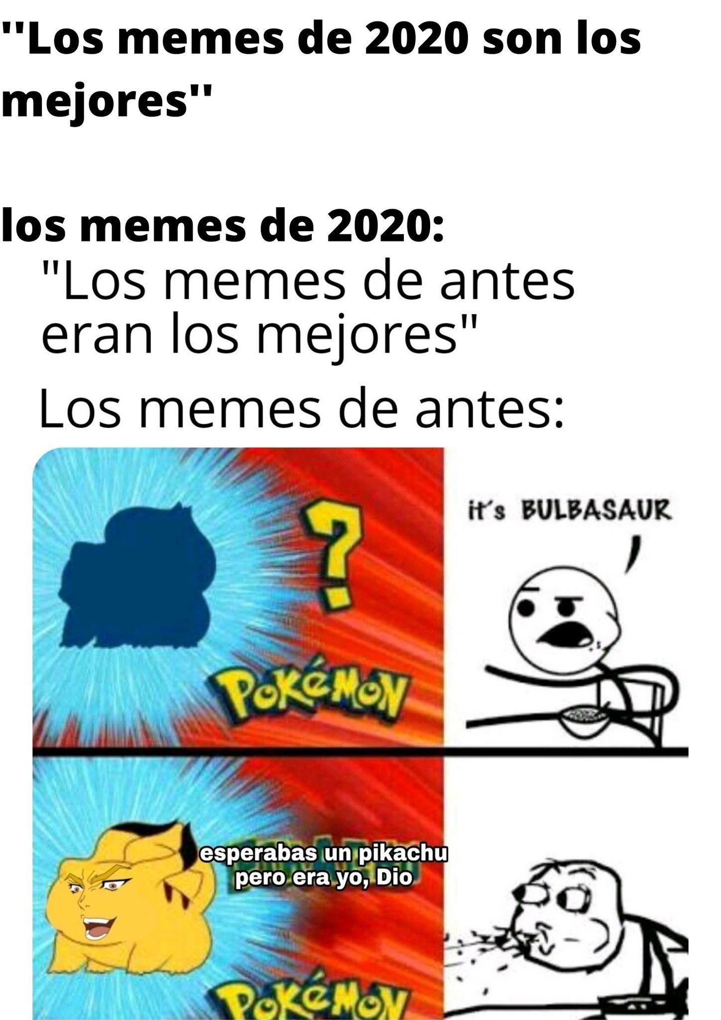 los memes de 2020: