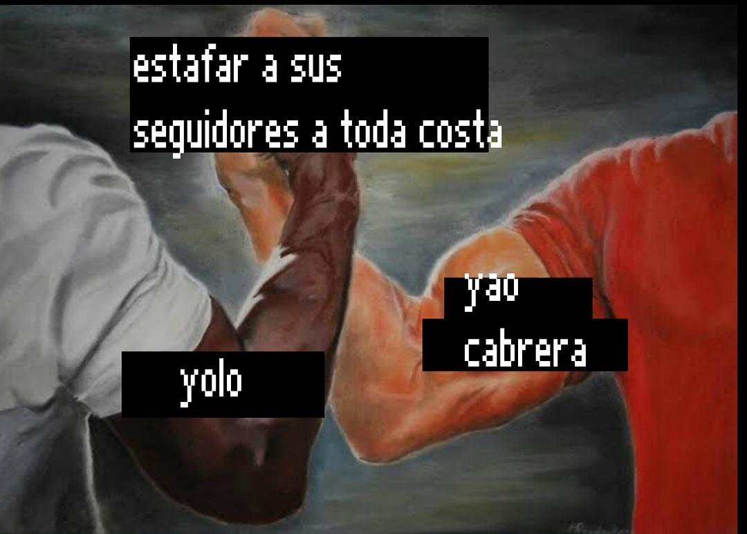 odio a yolo es un asco ojala le de sida - meme