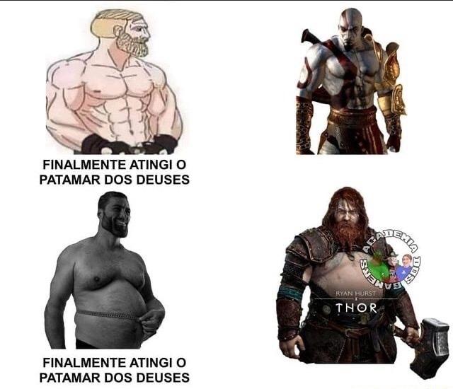 Thor parrudão fodase kkkkkkk - meme
