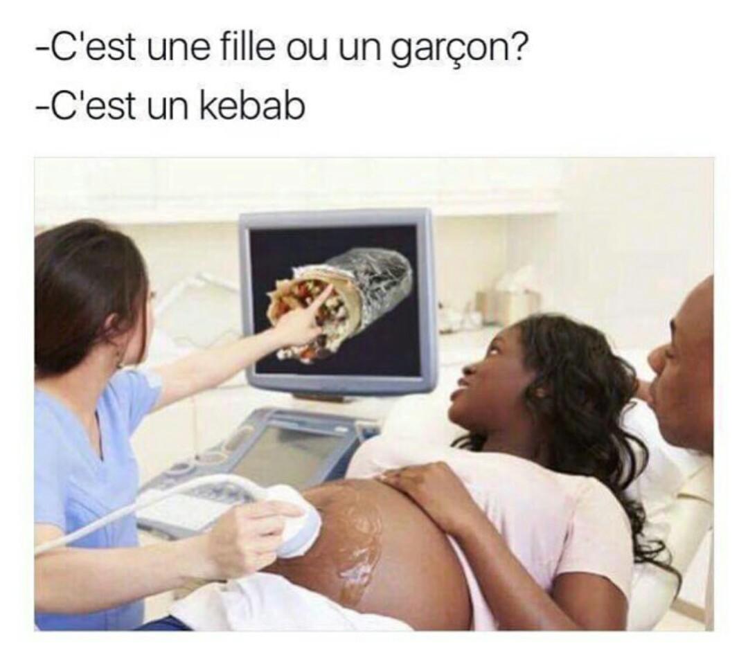 Galette a la maternité - meme