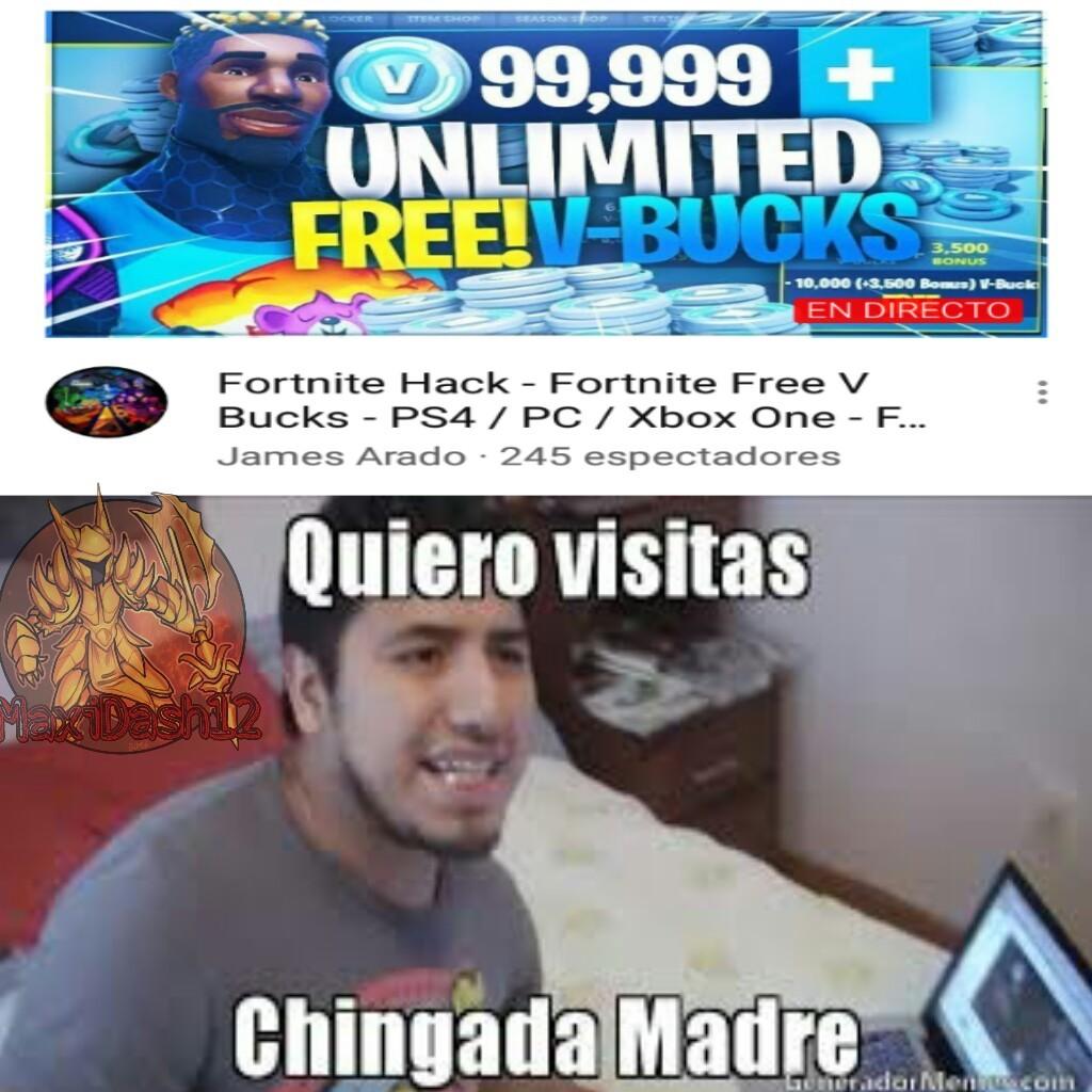 El fortnait - meme