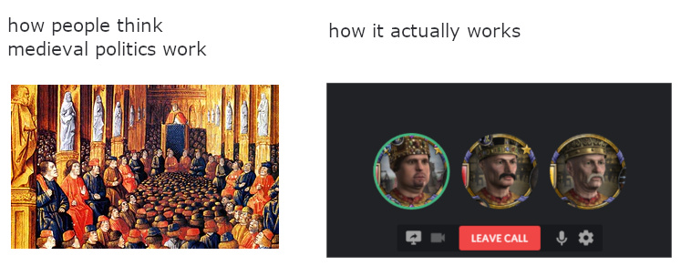 Crusader kings - meme