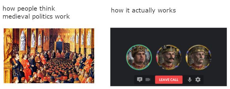 Crusader kings - meme