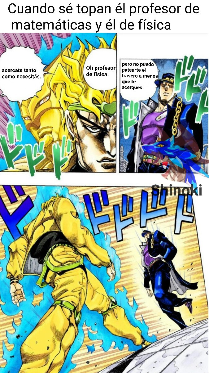 Las epicas batallas - meme