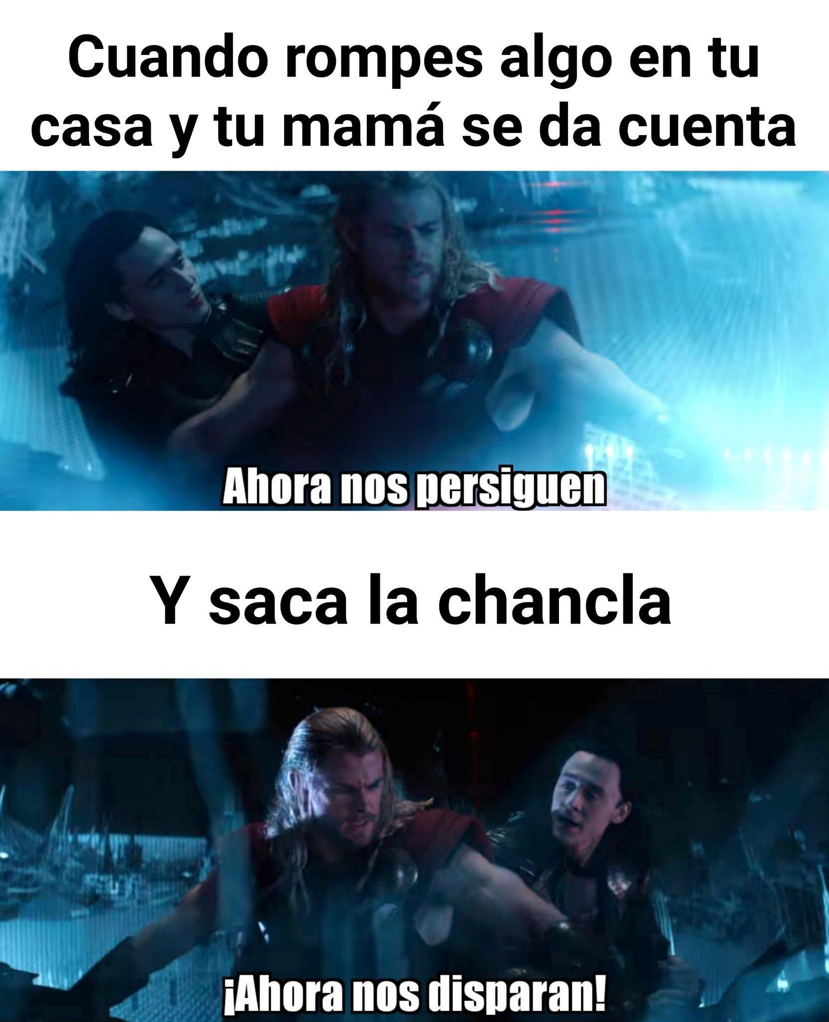 Thor y loki - meme