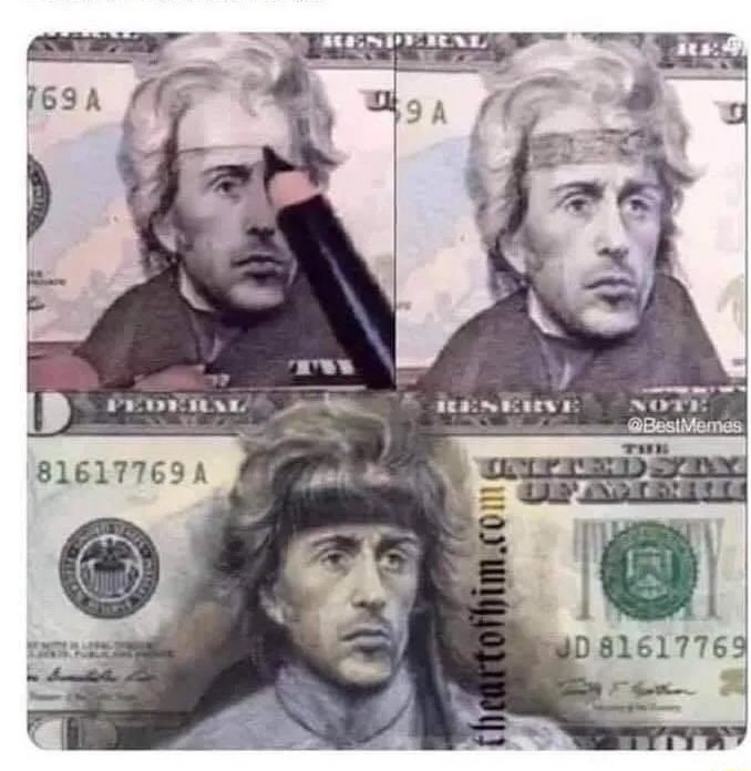 "Andrew Jackson:  ""I killed the bank"" - meme"