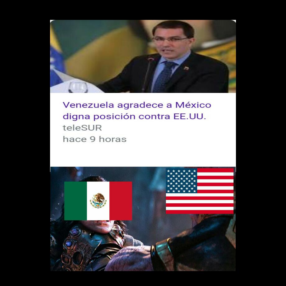 Mexicanos, no sean imbéciles y dejen que USA nos conquisten - meme