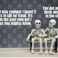 make no bones about it...