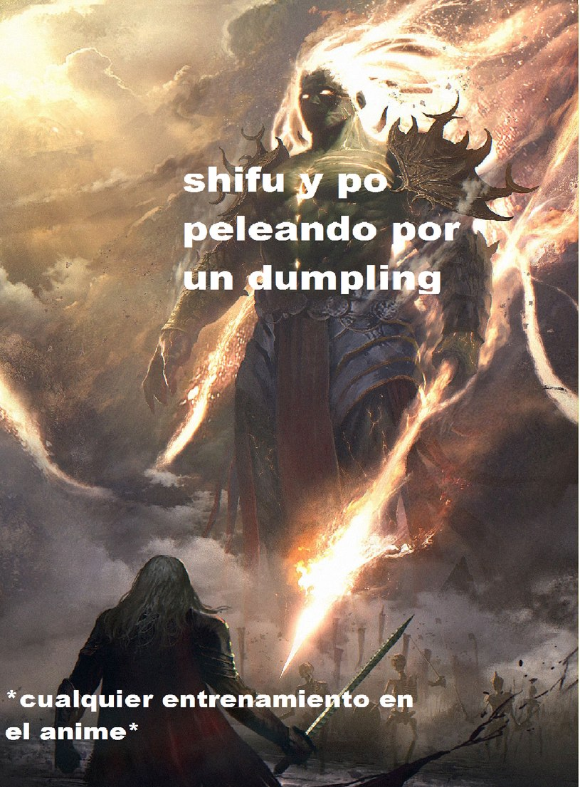 El mejor entrenamiento - meme